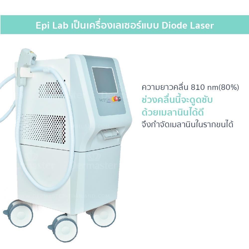 กำจัดขน Epilab Hair-removal (Diod) 7